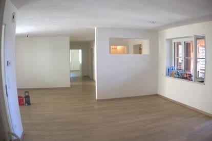 109m² Wohnung in ländlicher Idylle mit wunderschönem Natursteingarten