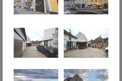 Kindergarten Altersheim Pension Anwaltskanzlei Firmensitz Arbeiterquartier Wohn-Gewerbe Haus direkt am Stadtplatz 500qm Wohnnutzfläche 5 Wohnungen plus 1400 Grundstück für 28 Autos Parkplätze f Provisions Frei von Privat
