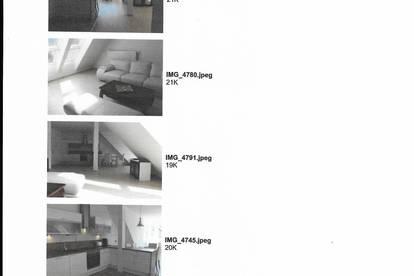 Sehr schöne  Penthouse Wohnung mit Seeblick in Jugendstil Villa zu vermieten