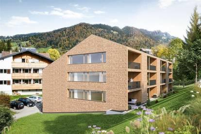 """Neubauprojekt """"Hittisau Platz"""": Hochwertige 2 Zimmerwohnung"""