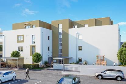 Hallein-Neualm: Neubau 2 Zimmer mit Balkon