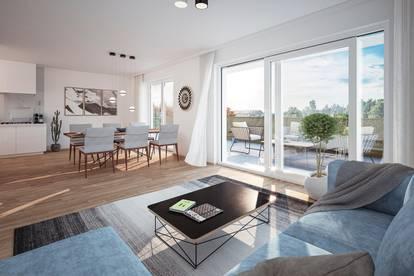 NEU in HALLEIN: 3 Zimmer Wohnung mit 67m² Dachterrasse