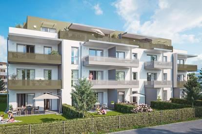 Trendige 2 Zimmer Neubau Gartenwohnung in Hallein