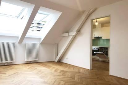 Salzachnähe, 2-Zi Wohnung im Dachgeschoss