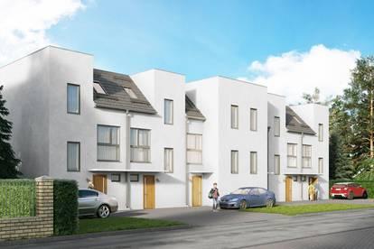 PAUL & Partner: ERSTBEZUG & UNBEFRISTET Reihenhaus mit Dachterrasse, Keller, Eigengarten