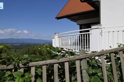 Repräsentative Liegenschaft in der Südsteiermark - großzügiges Wohnhaus in Aussichtslage
