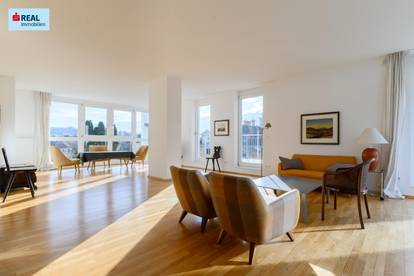 Moderne 3-Zimmer-Penthouse-Wohnung in exklusiver Villengegend in 8010 Graz