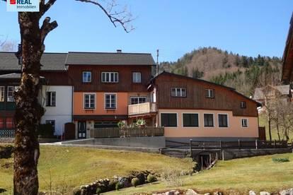 Ein- oder Mehrfamilienhaus mit drei Wohneinheiten in Altaussee