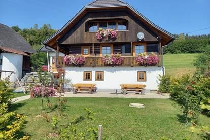 Gepflegtes Bauernhaus in sonniger Ruhelage mit Karawankenblick!