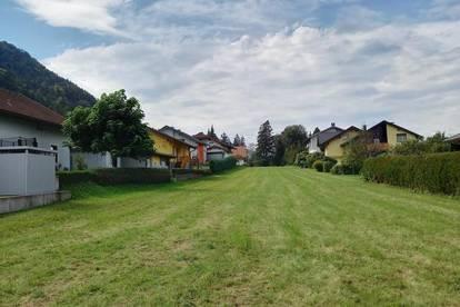 Pöckau: sonniges, ebenes Grundstück nahe Arnoldstein und Villach!