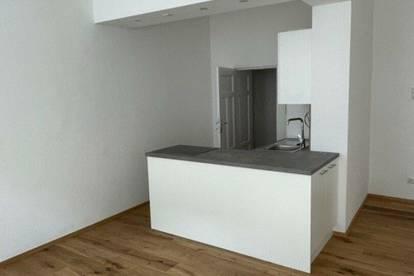 renovierte Altbauwohnung, Erstbezug