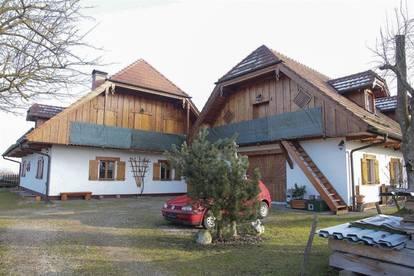 BIO - Exklusives LANDHAUS! KURVIDEO! mit Innenhof, Werkstatt, Büro 2. Wohneinheit möglich/Physio