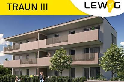 Neubau 3-Raum-Wohnung mit Balkon