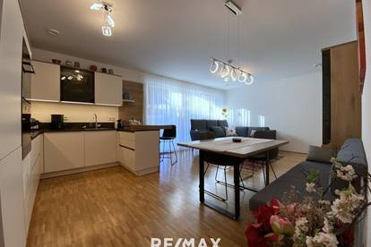 neuwertige 3-Zimmer-Wohnung mit Privatgarten und TG-Platz in Lienz