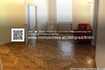 Moderne 3-Zimmer-Altbauwohnung mit Charme in Innsbruck/Wilten!