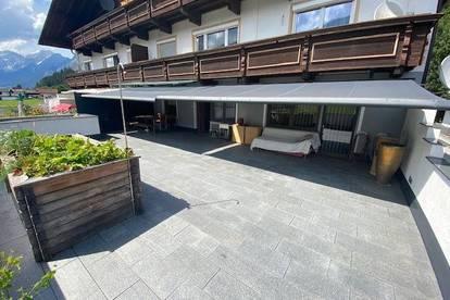 Sonnige Terrassenwohnung mit ausreichend Lager, Garagenfläche und KFZ Freiplätze