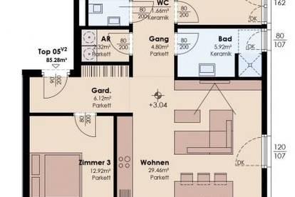 BelleVie Inzing: Top 5 - 4-Zimmer-Terrassenwohnung Varianten