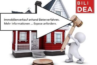 Immobilienverkauf anhand Bieterverfahren.