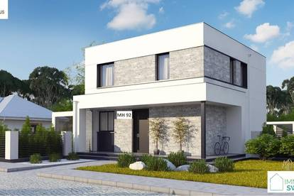 A Pottendorf - Moderners Einfamilienhaus in Ortsrand Ruhelage!