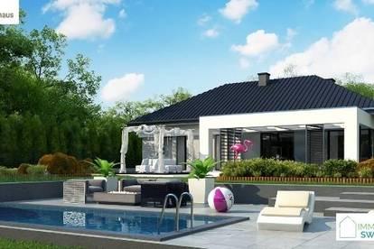 A Pottendorf - Moderners Einfamilienhaus in Ortsrand Ruhelage mit Garage!