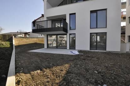 Erstbezug! Moderne, sonnige Erdgeschoßwohnung mit großem Eigengarten
