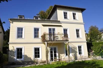 Lerchenfeldgasse: Ebenerdige Villenetage mit 2 Zimmern und Garten in zentraler Lage