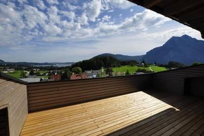 Erstbezug! 4-Zi-Dachgeschoßwohnung mit Top-Ausblick der Luxusklasse