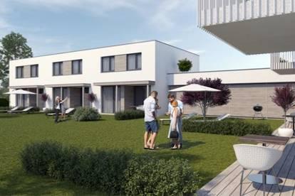 Projekt Grießstraße - 3 moderne Reihenhäuser in neuer Reihenhaus-/ Wohnhausanlage in Grünlage