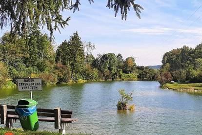 Fischer- und Badeparadies im Seengebiet