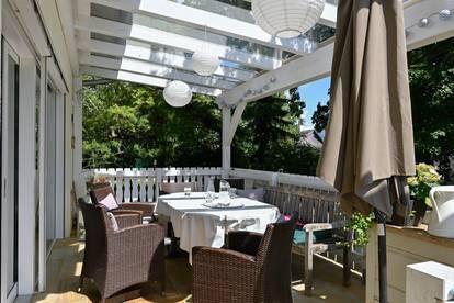 Exquisites Einfamilienhaus mit schönem idyllischen Garten mitten im Sonnbergviertel!