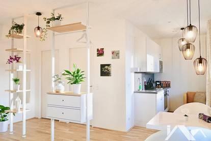 Innsbruck / Zentrum: Neuwertiges Studio-Apartment mit traumhafter Aussicht ab sofort zu vermieten