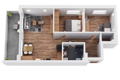 """RESERVIERT! TOP 10 Wohnprojekt """"Endach 18"""": 3 Zimmer Wohnung"""