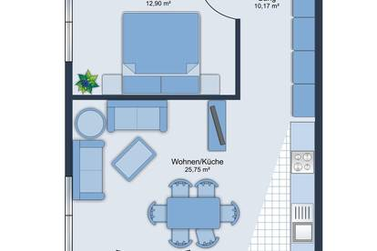 ERSTBEZUG! 2-Zimmer-Neubauwohnung in Kufstein ab sofort zu vermieten!