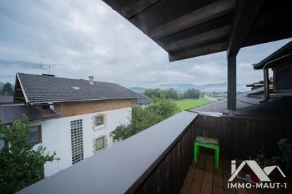 Langkampfen: 3-Zimmer-Dachgeschosswohnung mit Dachterrasse ab November zu vermieten