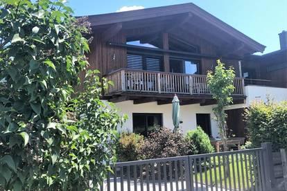 Hübsch ausgebautes Tirolerhaus mit schönem Bergblick