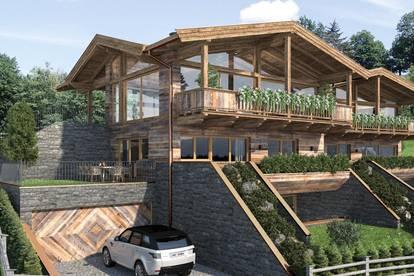 """Reith Mountain Lodges"" inmitten alpiner Traumkulisse - die ""Gams Lodge"""