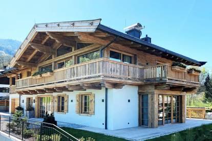 Neues Alpen-Chalet in Sonnen-Ruhelage mit Bergblick