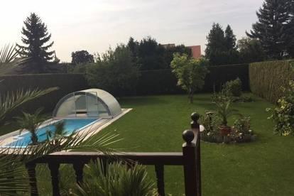 +++Wunderschönes Familienhaus in ruhiger Lage+Mit Kamin und Pool+Garten 870m²+Terrasse ca 30m²+++