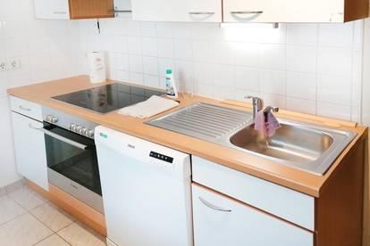 Innenhofruhelage+Balkon+2Zimmer+Badewanne+sehr gepflegt+thermosaniertes Haus