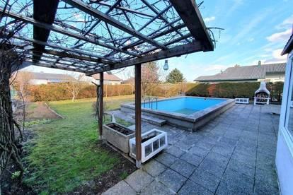 ** Einfamilienhaus mit Garten und Pool in Herzogenburg **