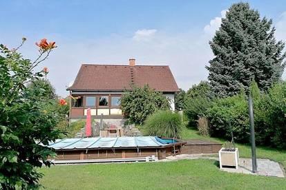 ++25 Minuten bis Wien++gepflegtes Haus mit 5 Zimmer++680m2 Grund++2 Bäder, Garage, Sauna, Vollkeller++