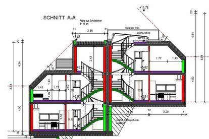 ++ Blick auf die Hohe Wand Wiese ++  Mit Baubewiligung++GRUNDSTÜCKgr. 950 m² ++ Einfamilienhaus mit 2 Wohneinheiten ++