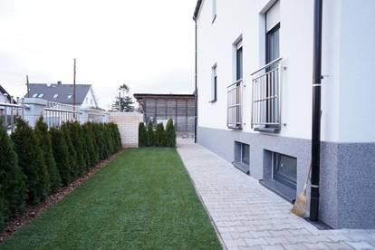 Doppelhaushälfte mit extravaganter Ausstattung günstig mieten  Riesiger Wohnbereich mit Küche 44,61 m² mit Zugang zur Terrasse