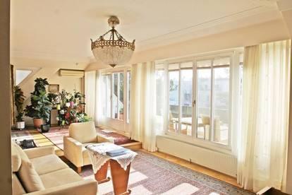 EXKLUSIVER WOHNTRAUM IN DÖBLINGS NOBLER LAGE!  4-Zimmer plus Terrasse in Grünruhelage!  2 Garagenplätze