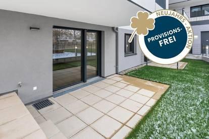 PROVISIONSFREI   2-Zimmer mit Garten   Erstbezug   Klimaanlage   Markenküche   Fußbodenheizung   elektr. Außenbeschattung   Erdwärme