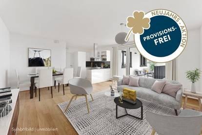 PROVISIONSFREI | 3-Zimmer mit Loggia | Erstbezug | EWE-Kküche | Fußbodenheizung | elektr. Außenbeschattung