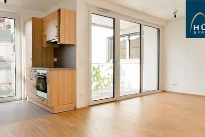 Nähe Alte Donau: Apartment mit Wohnküche und Schlafzimmer