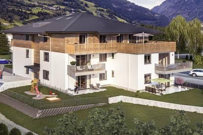 3 Zimmer Wohnung mit Garten & Bergblick