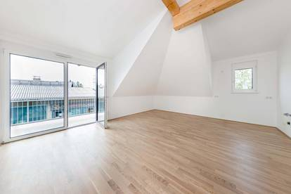 3 Zimmer Dachgeschosswohnung - bis zu 5m Raumhöhe!