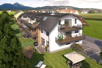 2 Zimmer Wohnung mit 20m² Balkon & begehbarem Kleiderschrank